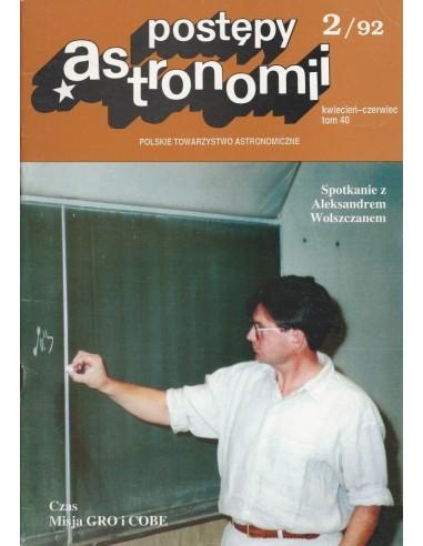 Postępy Astronomii nr 2/1992