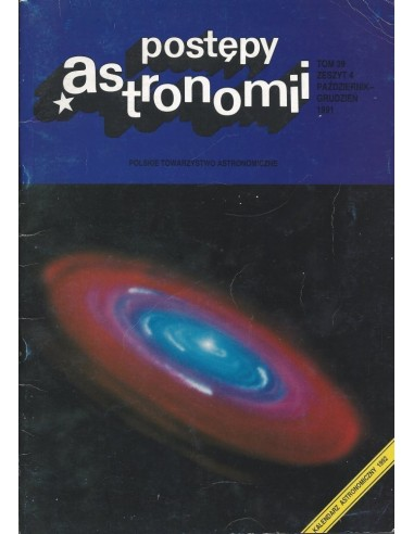 Postępy Astronomii nr 4/1991