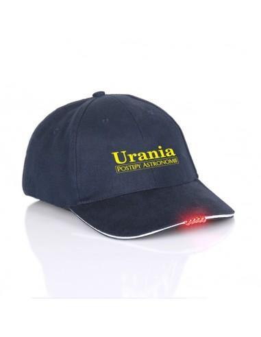 Czapka Uranii z latarką
