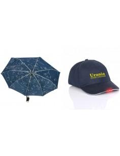 Zestaw: parasol + czapka