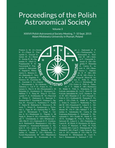 XXXVII Polish Astronomical Society Meeting