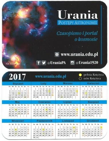 Kalendarzyk kieszonkowy 2017