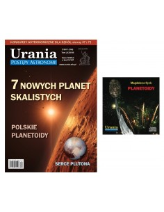 Pakiet: Urania nr 2/2017 + płyta CD