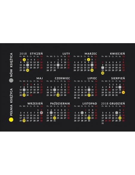 Kalendarzyk kieszonkowy 2018