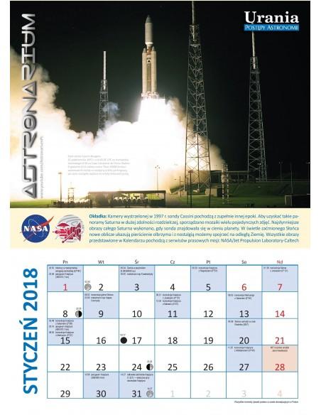 Urania nr 6/2017 + Kalendarz 2018