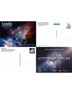 Zestaw pocztówek - Urania i Astronarium