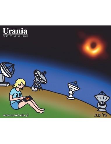 Ściereczka z mikrofibry - Mała Urania