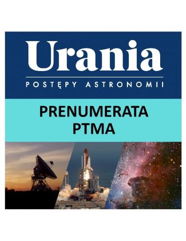 Prenumerata roczna Uranii PTMA