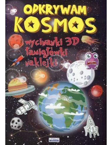 Odkrywam kosmos - Wycinanki 3D,...