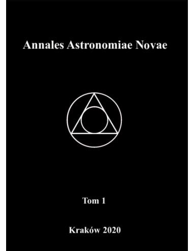 Annales Astronomiae Novae, Vol. 1