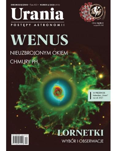 Urania nr 6/2020 + kalendarz 2021