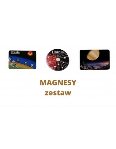 Magnesy - kosmiczny zestaw