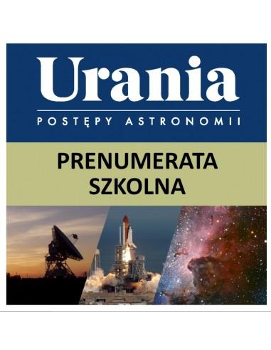 Prenumerata szkolna roczna Uranii