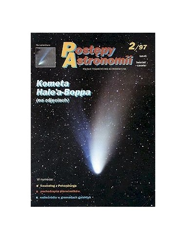 Postępy Astronomii nr 2/1997