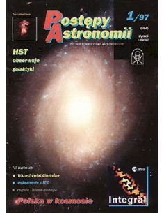 Postępy Astronomii nr 1/1997