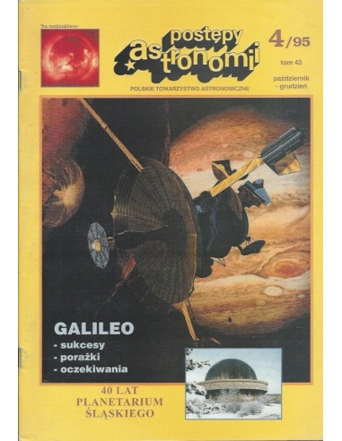 Postępy Astronomii nr 4/1995