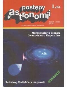 Postępy Astronomii nr 1/1994