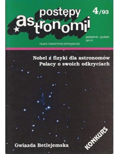 Postępy Astronomii nr 4/1993