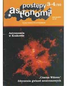 Postępy Astronomii nr 3-4/1992