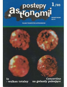 Postępy Astronomii nr 1/1993